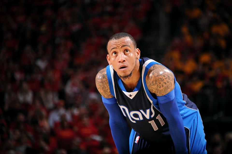 HOUSTON, TX - APRIL 28: Monta Ellis #11 of the Dallas Mavericks shoots against the Houston Rockets in Game Five of the Western Conference Quarterfinals during the NBA Playoffs on April 28, 2015 at the Toyota Center in Houston, Texas. (Photo by Bill Baptist/NBAE via Getty Images)
