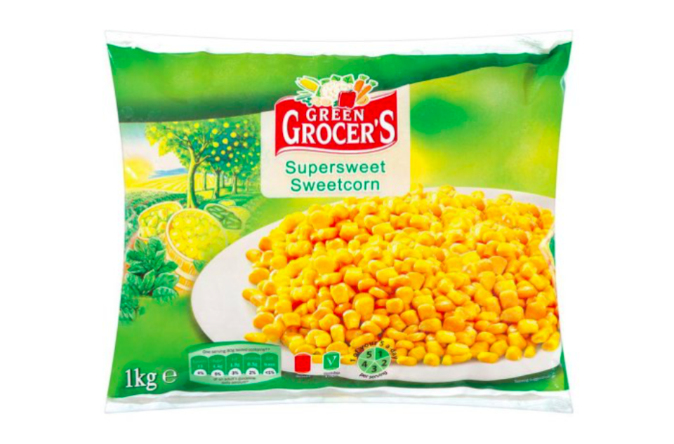 <em>Lidl's Frozen Green Grocer's Supersweet Corn are being recalled over listeria fears (Lidl)</em>