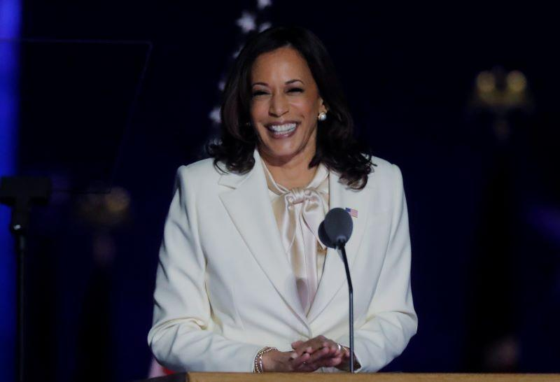 Historic Win, Global Cheer and a Tribute to Her Mother: Kamala Harris  Shines On