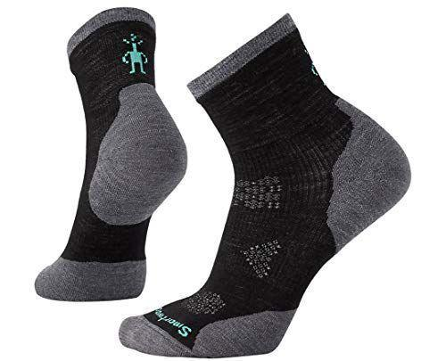 """<p><strong>Smartwool</strong></p><p>amazon.com</p><p><strong>$21.95</strong></p><p><a href=""""https://www.amazon.com/dp/B01N59BFPL?tag=syn-yahoo-20&ascsubtag=%5Bartid%7C2140.g.19963922%5Bsrc%7Cyahoo-us"""" rel=""""nofollow noopener"""" target=""""_blank"""" data-ylk=""""slk:Shop Now"""" class=""""link rapid-noclick-resp"""">Shop Now</a></p><p>""""I'm a huge fan of merino wool—it's naturally lightweight, soft, non-itchy, moisture-wicking, and keeps feet dry and warm even while sweating,"""" says Tuttle. She likes this sock in particular because of how perfectly it fits her foot, and it adds a little extra layer under tights, thanks to the higher cut.</p>"""