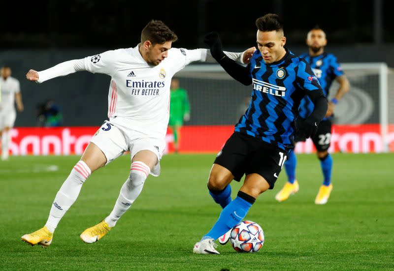 FILE PHOTO: Champions League - Group B - Real Madrid v Inter Milan