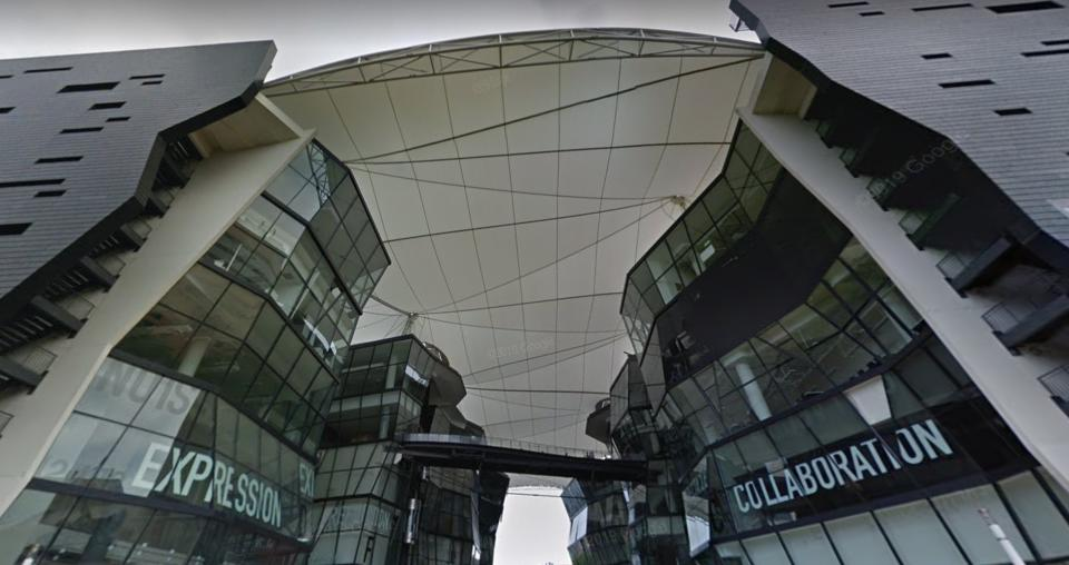 LaSalle College of the Arts (PHOTO: Screenshot/Google Maps)