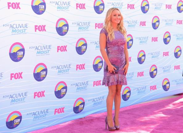 Actress Hayden Panettiere arrives at the 2012 Teen Choice Awards at Gibson Amphitheatre on July 22, 2012 in Universal City, California. (Photo by Jason Merritt/Getty Images)