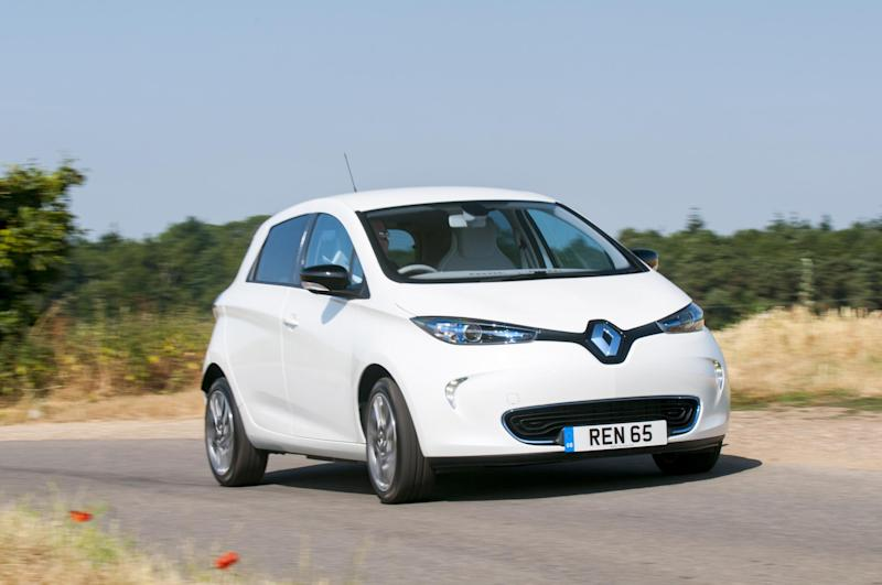 The Zoe is an electric car designed for urban environments