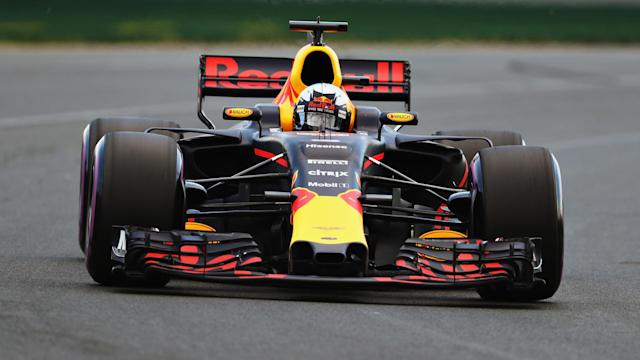 Red Bull driver Daniel Ricciardo was given a five-place grid penalty at the Australian Grand Prix after a gearbox change.