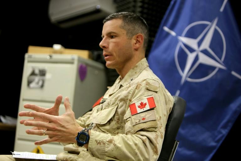 Major General Dany Fortin, the Commander of the NATO Mission Iraq (NMI), in an interview in Baghdad on Sunday