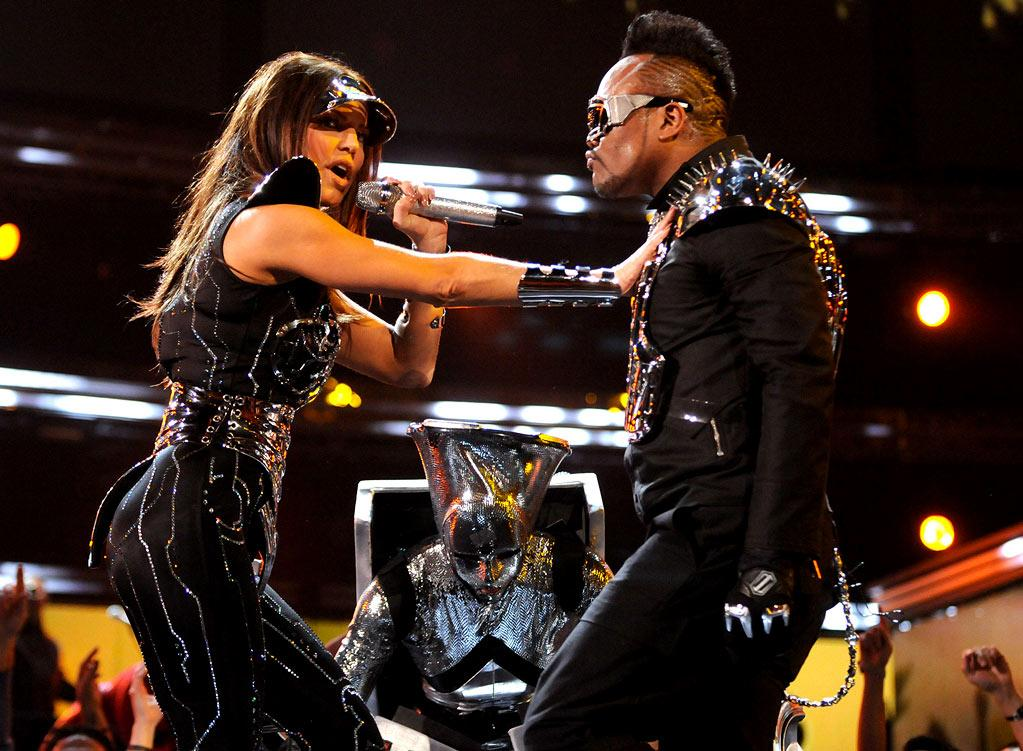 Black Eyed Peas perform at The 52nd Annual Grammy Awards held at Staples Center on January 31, 2010 in Los Angeles, California.