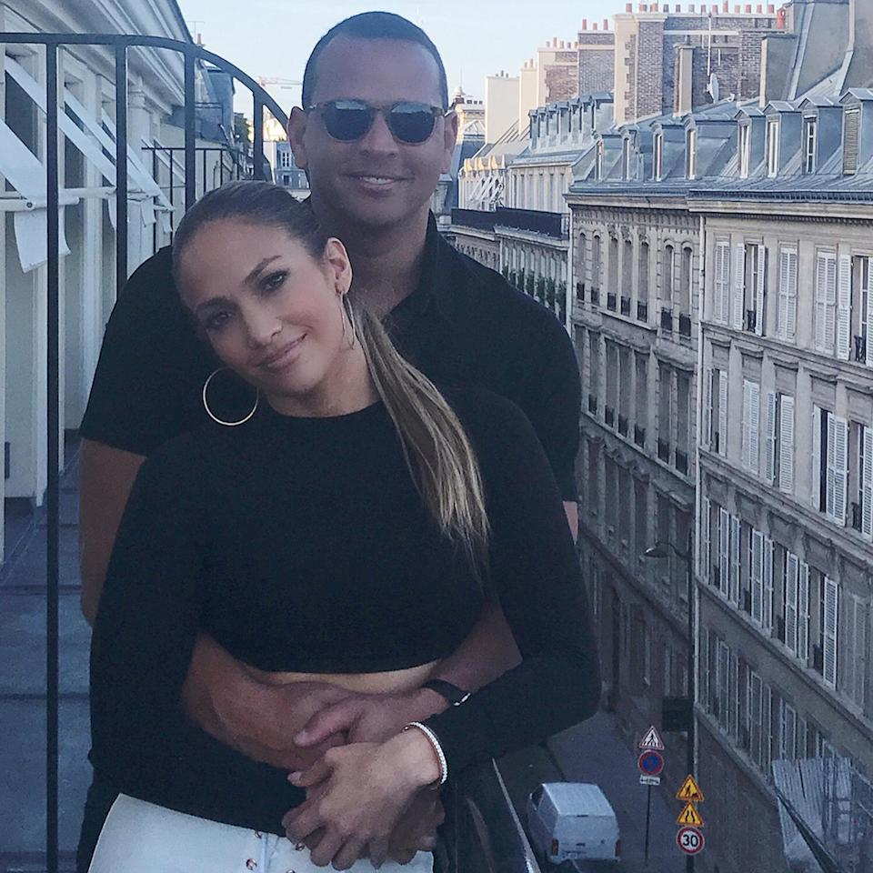 "<p>The pair also took their first public vacation together to Paris, with Lopez dubbing it their ""#baecation"" on <a href=""https://www.instagram.com/p/BViOF8ZlVjE/?utm_source=ig_embed"" rel=""nofollow noopener"" target=""_blank"" data-ylk=""slk:Instagram"" class=""link rapid-noclick-resp"">Instagram</a>. </p>"