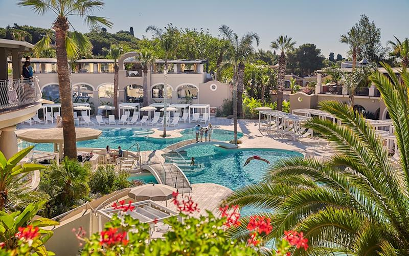 Le Dune in Sardinia is one of Forte Village's five-star hotels and boasts a multitude of activities for families