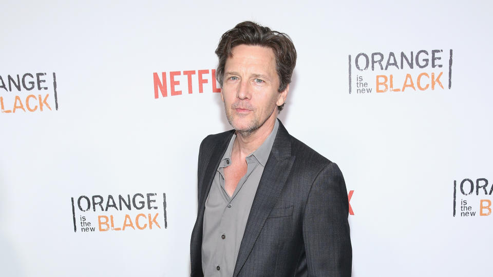 """Andrew McCarthy attends """"Orange Is The New Black"""" New York City Premiere on June 16, 2016. (Photo by Robin Marchant/Getty Images)"""