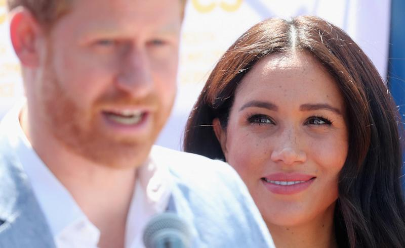 The Duke and Duchess of Sussex in Johannesburg (Getty Images )