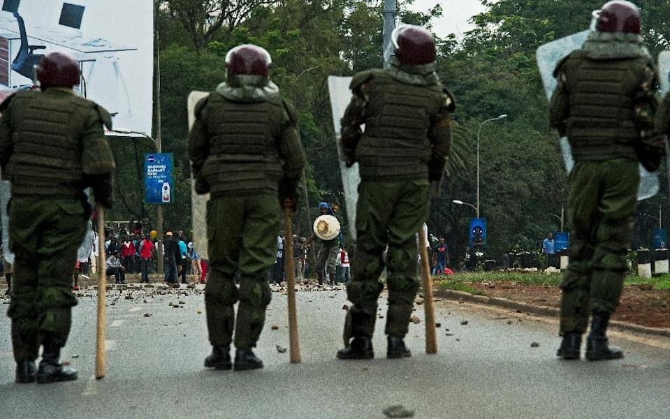 Kenyan police are routinely accused of running death squads and killing suspects as well as those with whom they have disputes (AFP Photo/Carl de Souza)