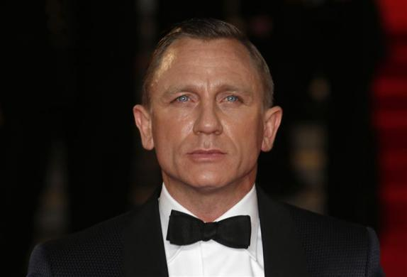 "4. Daniel Craig, $951 million.CAPTION: Daniel Craig arrives for the royal world premiere of the new 007 film ""Skyfall"" at the Royal Albert Hall in London October 23, 2012."