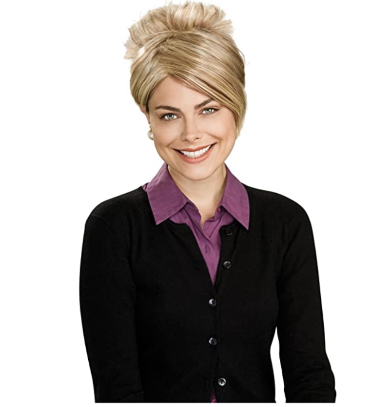 This onetime Kate Gosselin wig is now being used for Karen Halloween costumes. (Photo: Rubie's/Amazon.com)