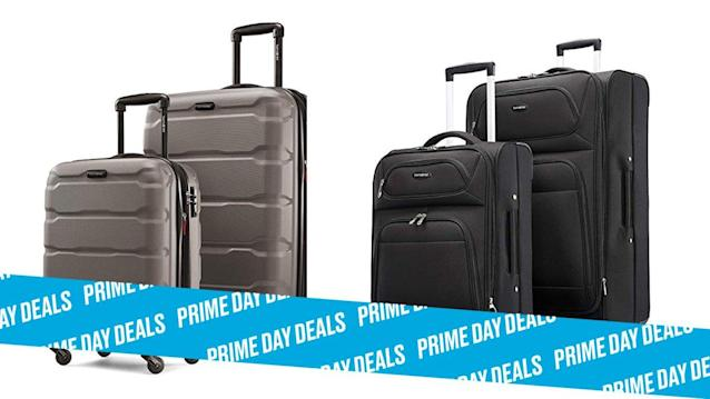 Photo Illustration by Elizabeth Brockway/The Daily Beast * Up to 60% off Samsonite luggage sets. * Includes two and three-piece sets, softside or hardside. * Shop the rest of our other Prime Day deal picks here. Not a Prime member yet? Sign up here.Going somewhere? Don't pack your bags just yet. Samsonite luggage is up to 60% off for Prime Day, which means you can get a brand new set of bags to stuff full of clothing you won't wear while on your trip. Choose from hardside or softside sets. | Get it on Amazon >Let Scouted guide you to the best Prime Day deals. Shop Here >Scouted is internet shopping with a pulse. Follow us on Twitter and sign up for our newsletter for even more recommendations and exclusive content. Please note that if you buy something featured in one of our posts, The Daily Beast may collect a share of sales.Read more at The Daily Beast.Get our top stories in your inbox every day. Sign up now!Daily Beast Membership: Beast Inside goes deeper on the stories that matter to you. Learn more.
