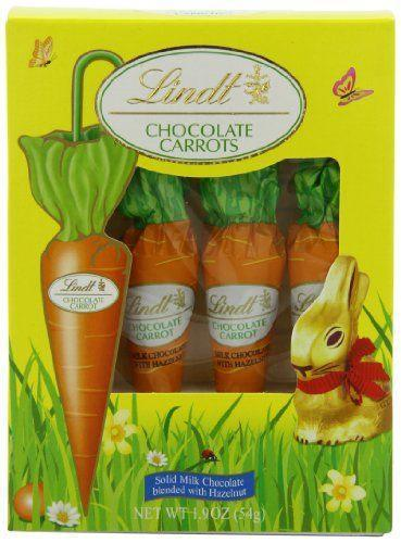 "<p><strong>Lindt</strong></p><p>amazon.com</p><p><strong>$12.88</strong></p><p><a href=""https://www.amazon.com/dp/B00B96KLCQ?tag=syn-yahoo-20&ascsubtag=%5Bartid%7C10050.g.19448303%5Bsrc%7Cyahoo-us"" rel=""nofollow noopener"" target=""_blank"" data-ylk=""slk:Shop Now"" class=""link rapid-noclick-resp"">Shop Now</a></p><p>If you're not going to go for the chocolate bunny, you've at least got to give them the gift of chocolate <em>carrots</em>! How fun are these?</p>"