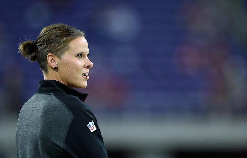 Katie Sowers ist Co-Trainerin der San Francisco 49ers. (Bild: Getty Images)