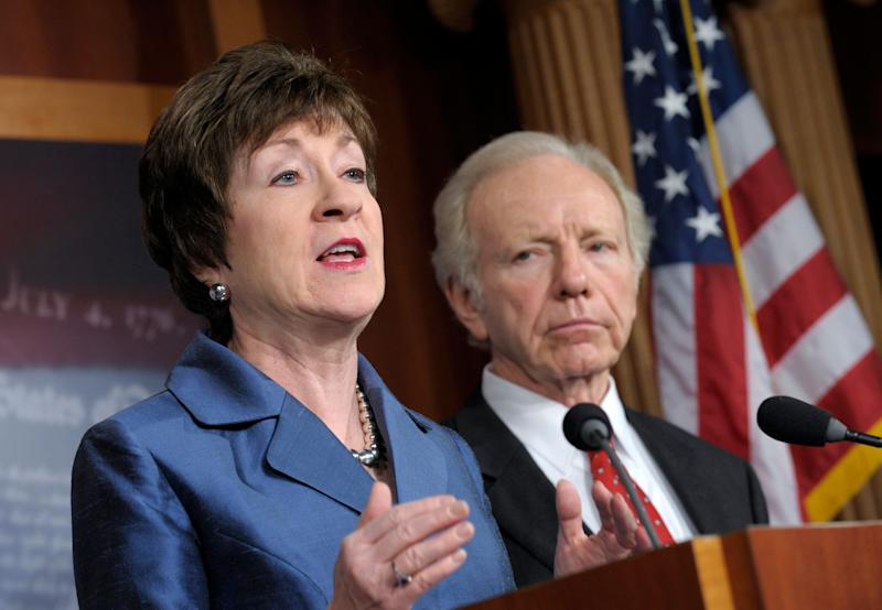 """Collins said in May that she wasn't willing to talk about impeachment <a href=""""http://www.huffingtonpost.com/2013/05/12/mccain-obama-benghazi_n_3262489.html"""" target=""""_blank"""">""""at this point,""""</a> but she acknowledged the allegations were """"serious."""""""