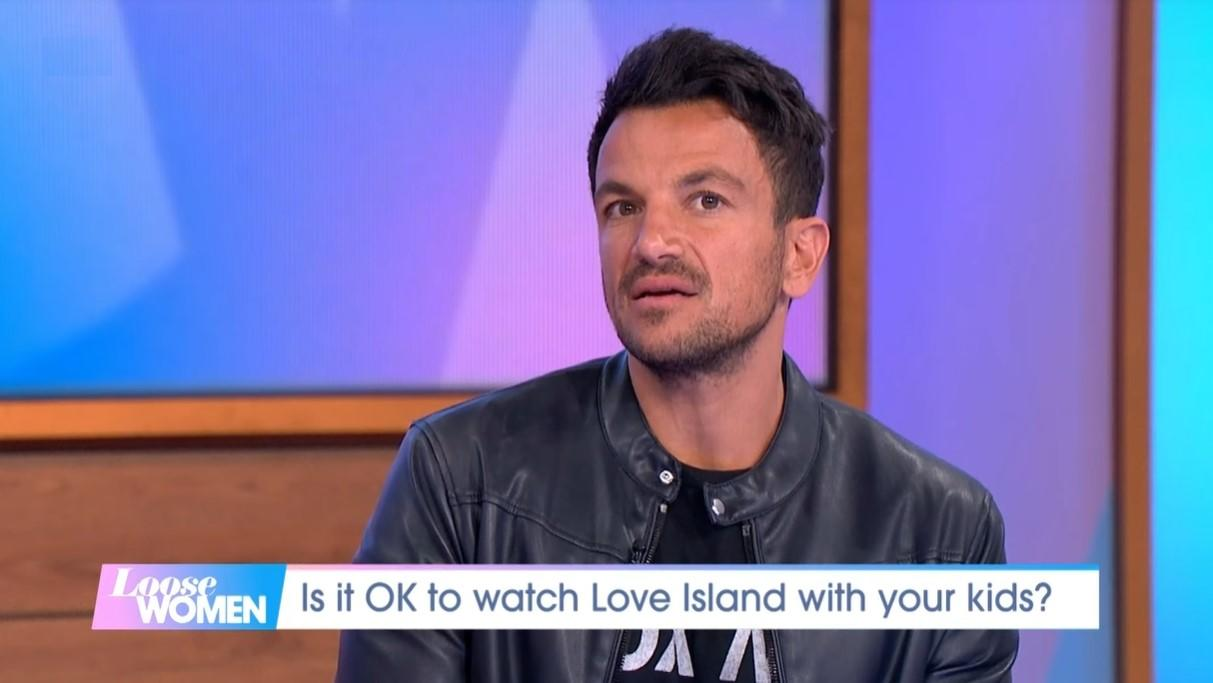 Peter Andre revealed his 12-year-old daughter Princess asked him whether he would let her go on 'Love Island' recently (ITV)