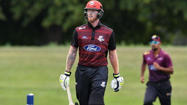 Stokes wasn't happy. Image: Getty