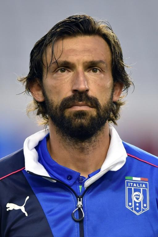 Andrea Pirlo lifted the 2006 World Cup with Italy.