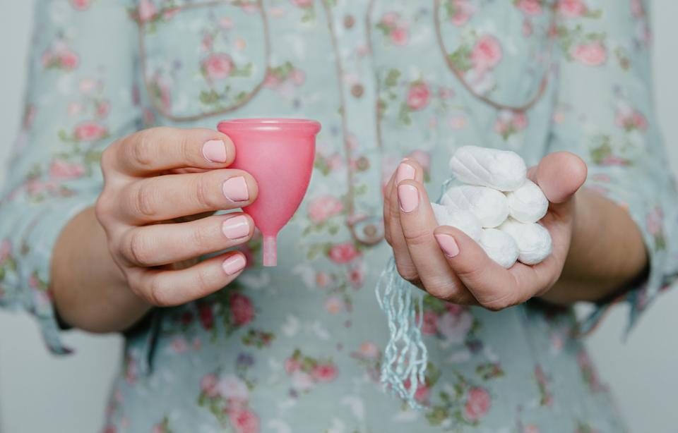 What's with the period stigma? [Photo: Getty]