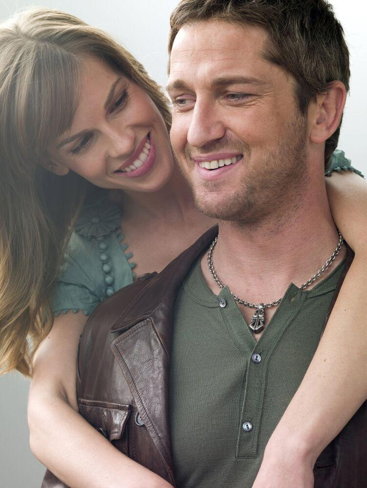 Hilary Swank and Gerard Butler in P.S. I Love You | Norman Jean Roy/Warner Bros/Kobal/REX/Shutterstock