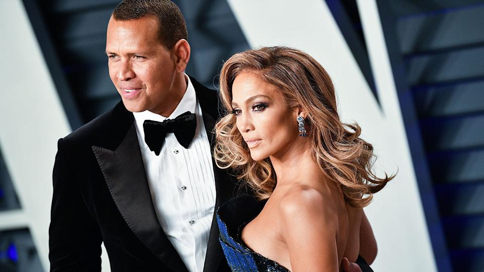 Alex Rodriguez and Jennifer Lopez were one of America's most high-profile power couples. Pic: AAP