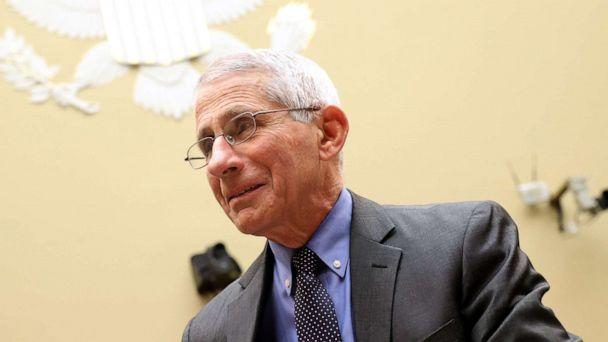PHOTO: Anthony Fauci, director of the NIH National Institute of Allergy and Infectious Diseases appears during a House Oversight and Reform Committee hearing on Coronavirus Preparedness and Response, March 12, 2020, in Washington, D.C. (Win Mcnamee/Getty Images)