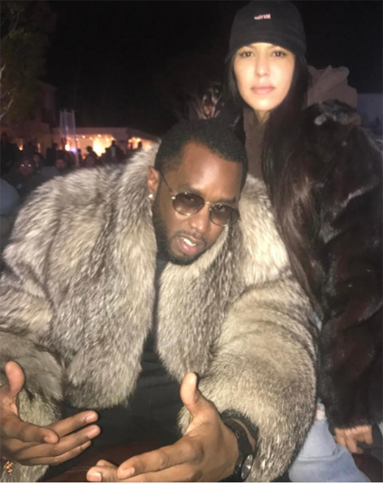 "<p>Kourt's Super Bowl plans included hanging out with her furry friend, Sean ""Diddy"" Combs, who's recovering from knee surgery. (Photo: <a rel=""nofollow"" href=""https://www.instagram.com/p/BQKQSJMFBvY/?taken-by=kourtneykardash"">Instagram</a>) </p>"