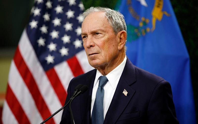 Michael Bloomberg is a Republican-turned-Democrat - AP