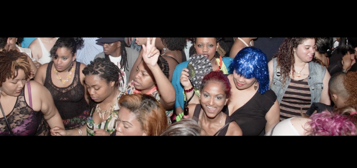 A scene from a now-closed queer club in the Lesbian Bar Project PSA. (Photo courtesy of the Lesbian Bar Project)