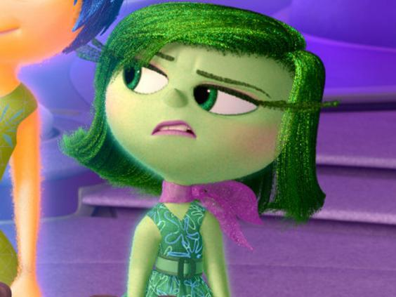 Disgust from Pixar's Inside Out (2015) (Moviestore/Rex)
