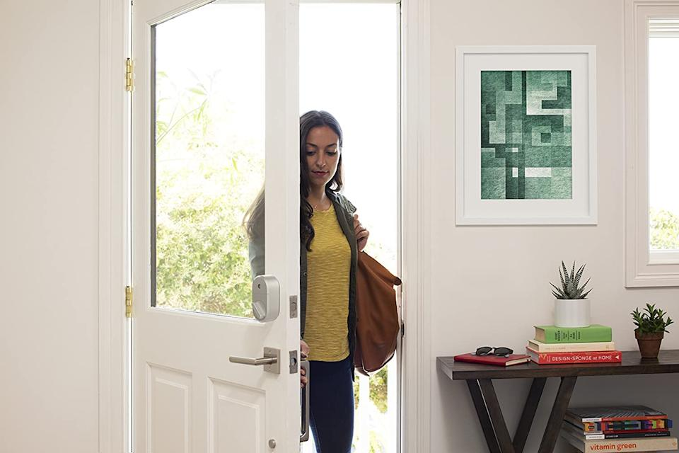 Upgrade your home security with the August Home Smart Lock. Image via Amazon.