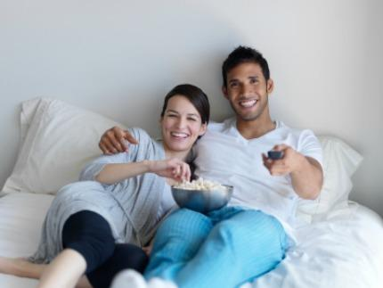 "<div class=""caption-credit""> Photo by: iStockPhoto</div><div class=""caption-title""></div><b>Watch Each Other's Favorite TV Shows <br></b> You both had plans to catch up on your favorite television shows. Why not sit and watch them together? You may not be a fan of your husband's favorite TV show but chances are you are a fan of him. <br> <b><a href=""http://www.babble.com/strollerderby/2012/07/09/the-25-biggest-male-turn-offs/"" target=""""><i>Related: The 25 biggest male turn-offs</i></a></b>"