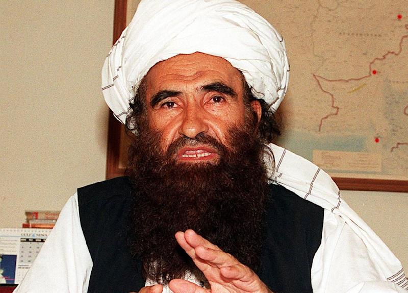 Insurgents on Saturday denied Pakistani media reports that infamous militant Jalaluddin Haqqani, believed to be in his 70s, had died (AFP Photo/)