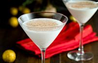 "<p>Following the holiday theme, Utah's top trending recipes of 2020 were for <a href=""https://www.thedailymeal.com/holidays/holiday-drinks-cocktails?referrer=yahoo&category=beauty_food&include_utm=1&utm_medium=referral&utm_source=yahoo&utm_campaign=feed"" rel=""nofollow noopener"" target=""_blank"" data-ylk=""slk:eggnog"" class=""link rapid-noclick-resp"">eggnog</a> and divinity. Give eggnog a fun twist by turning the drink into a martini. </p> <p><a href=""https://www.thedailymeal.com/recipe/eggnog-martini-recipe?referrer=yahoo&category=beauty_food&include_utm=1&utm_medium=referral&utm_source=yahoo&utm_campaign=feed"" rel=""nofollow noopener"" target=""_blank"" data-ylk=""slk:For an Eggnog Martini recipe, click here."" class=""link rapid-noclick-resp"">For an Eggnog Martini recipe, click here.</a></p>"