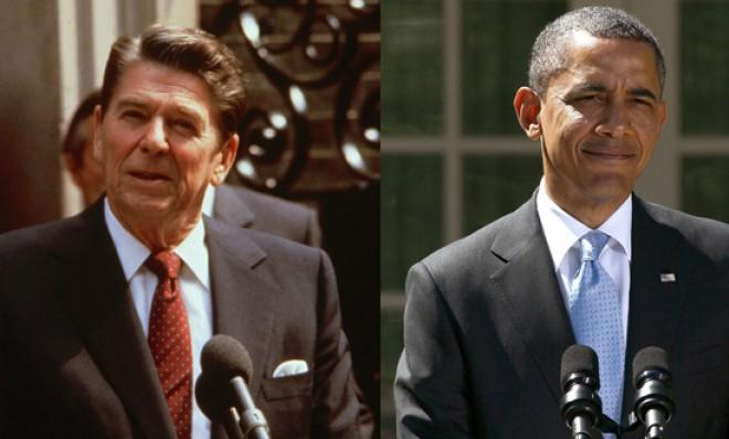 Reagan vs. Obama: Who's really the taxer-in-chief?