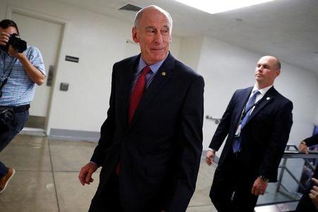 Director of National Intelligence Dan Coats is seen on Capitol Hill in Washington, U.S., September 26, 2017. REUTERS/Aaron P. Bernstein/Files