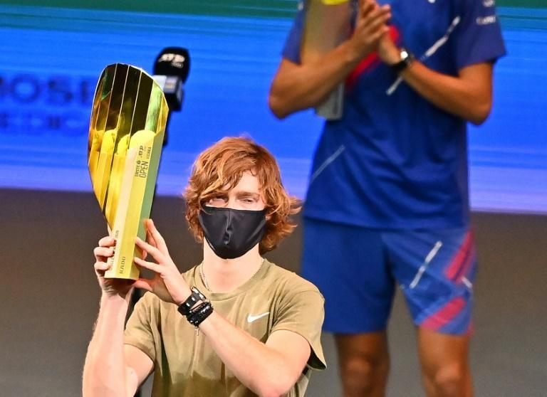 Rublev won his fifth title of the season