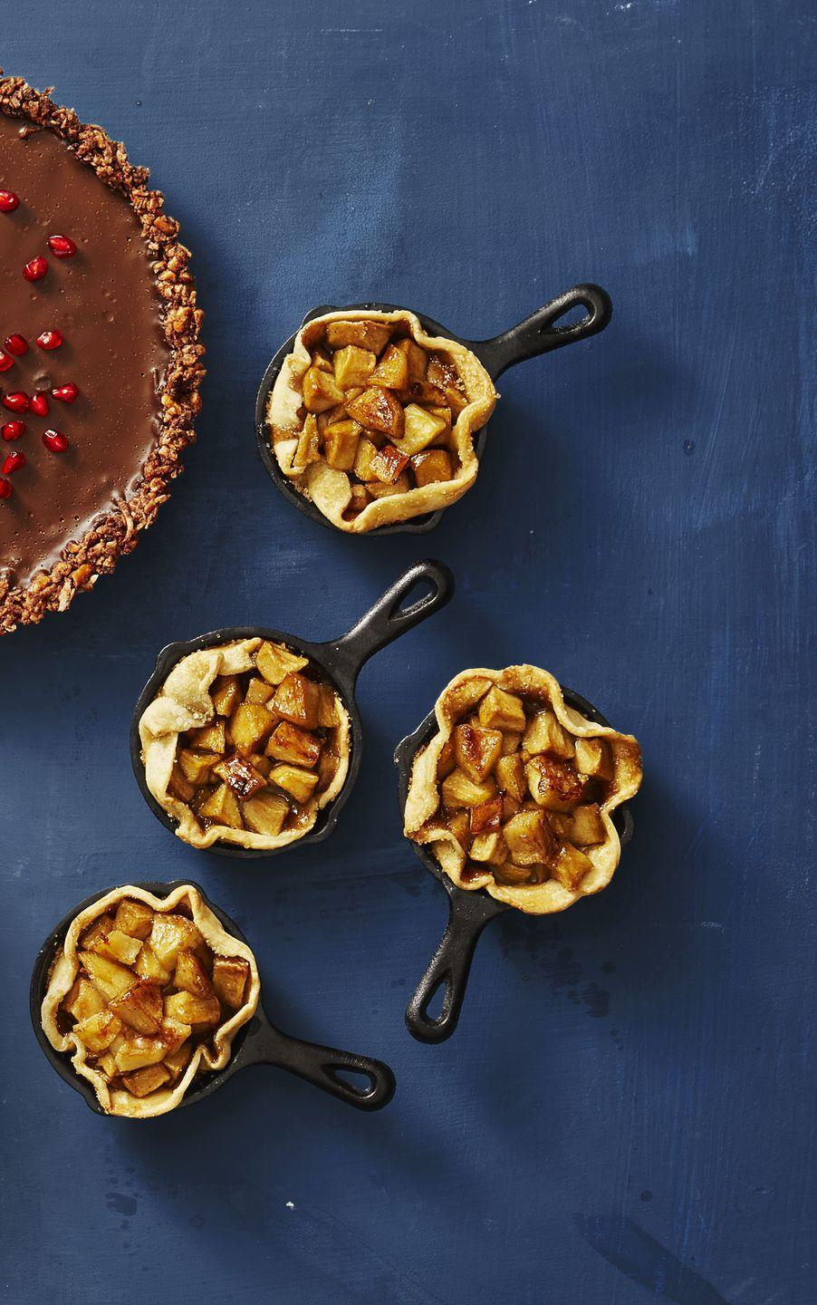 "<p>Single-serving pies that you don't have to share? That's something to be thankful for.</p><p><a href=""https://www.goodhousekeeping.com/food-recipes/a41081/skillet-apple-minis-recipe/"" rel=""nofollow noopener"" target=""_blank"" data-ylk=""slk:Get the recipe for Skillet Apple Minis »"" class=""link rapid-noclick-resp""><em>Get the recipe for Skillet Apple Minis »</em></a></p>"