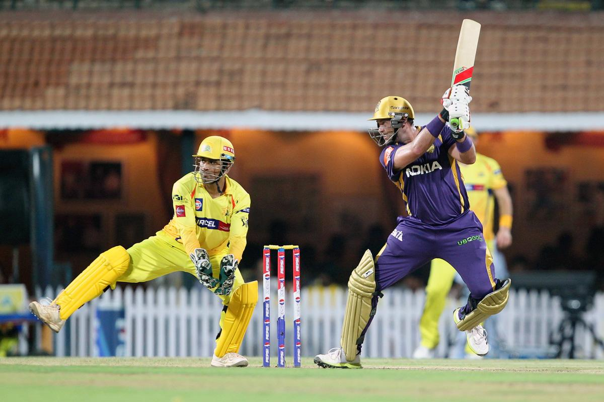 Jacques Kallis during match 38 of the Pepsi Indian Premier League between The Chennai Superkings and the Kolkata Knight Riders held at the MA Chidambaram Stadiumin Chennai on the 28th April 2013. (BCCI)