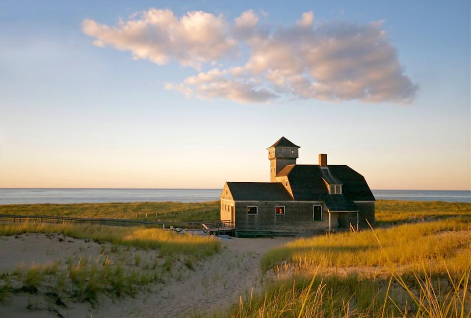 """<p><strong>1 hour 30 minutes from Boston</strong></p> <p>Find Chatham, Massachusetts, on the southeastern tip of <a href=""""https://www.cntraveler.com/story/where-to-eat-stay-and-play-on-cape-cod?mbid=synd_yahoo_rss"""" rel=""""nofollow noopener"""" target=""""_blank"""" data-ylk=""""slk:Cape Cod"""" class=""""link rapid-noclick-resp"""">Cape Cod</a>. The town's <a href=""""https://www.chathaminfo.com/beaches"""" rel=""""nofollow noopener"""" target=""""_blank"""" data-ylk=""""slk:Lighthouse Beach"""" class=""""link rapid-noclick-resp"""">Lighthouse Beach</a> is frequently named one of the state's most beautiful and offers a view of the 19th-century lighthouse here. The donations-only <a href=""""https://www.chathamrailroadmuseum.com/"""" rel=""""nofollow noopener"""" target=""""_blank"""" data-ylk=""""slk:Chatham Railroad Museum"""" class=""""link rapid-noclick-resp"""">Chatham Railroad Museum</a>, located inside an 1887 train depot, features a wood-sided red caboose built in 1910. No visit to Chatham would be complete without a meal at <a href=""""https://www.theimpudentoyster.com/"""" rel=""""nofollow noopener"""" target=""""_blank"""" data-ylk=""""slk:The Impudent Oyster"""" class=""""link rapid-noclick-resp"""">The Impudent Oyster</a>, the four-decade-old ode to seafood (and to laid-back South Shore dining). To stay, book the Chatham Bay-facing <a href=""""https://cna.st/affiliate-link/WHvUKwsURK2Vm8hnqtb3MnA61BEzaM3JwN5vXrsebs3zZSCjowtrHf9baHb52Yef3fqdBMjd4J2RaFT7CFjs3QEtj8Gumss6irDfda7qEAzb3ofRm1MFGZjvcSgb5uqH7gcei58ndBhAe9HWScq2jm?cid=60a6aa190573a81e1406abf8"""" rel=""""nofollow noopener"""" target=""""_blank"""" data-ylk=""""slk:Chatham Bars Inn"""" class=""""link rapid-noclick-resp"""">Chatham Bars Inn</a> (<em>rooms from $535 per night</em>), which has held court on the Cape since 1914.</p>"""