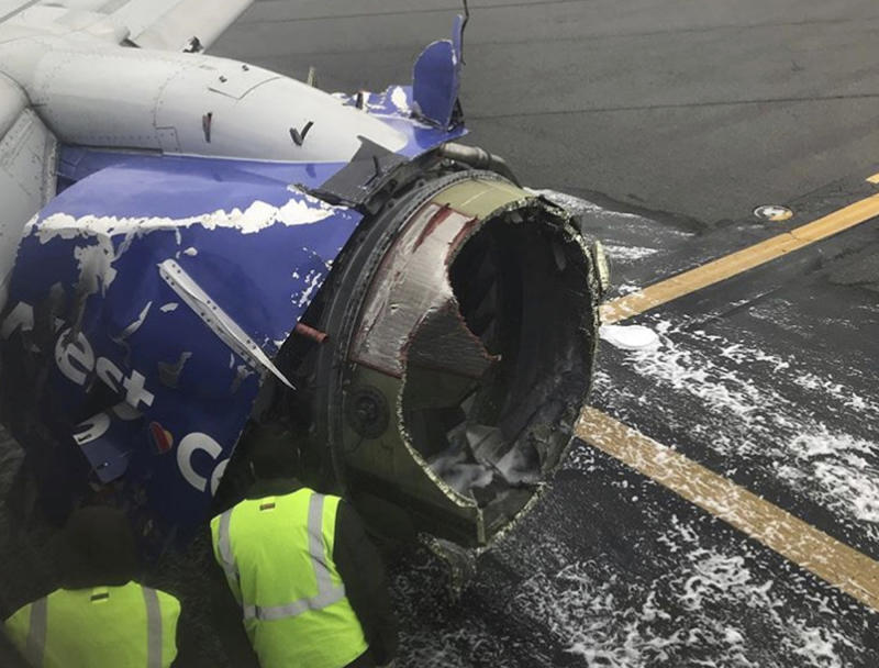 Maker of Failed Southwest Airlines Engine Calls for Closer Inspections