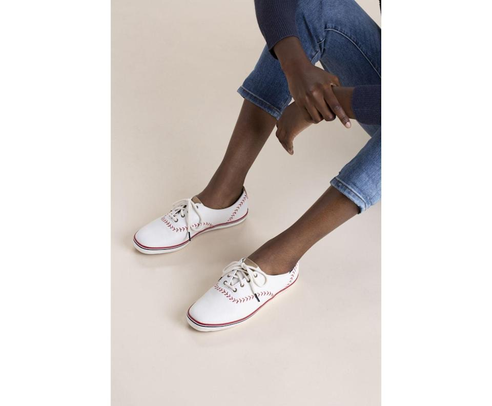 <p>Tapping into its sporty roots, these <span>Keds Champion Pennant Leather Sneakers</span> ($65) look effortlessly cool. The color mix makes it fresh and suitable for any occasion, from a sports game to a laid-back picnic.</p>