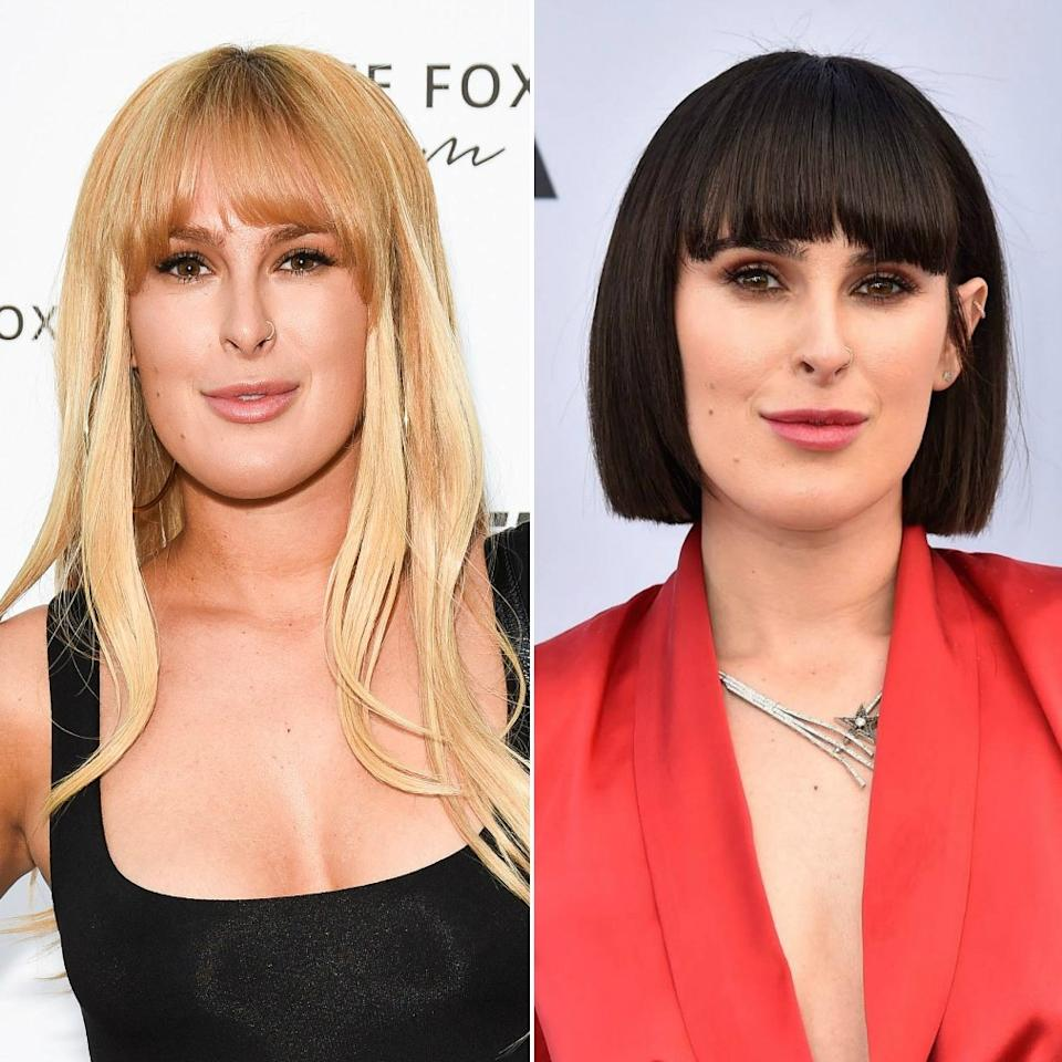 """After spending most of 2018 as a blonde bombshell, <a rel=""""nofollow"""" href=""""https://www.allure.com/topic/rumer-willis?mbid=synd_yahoo_rss"""">Rumer Willis</a> kicked off 2019 with a major change. The singer/actress showed off her fresh new cut and dark-brown color on the red carpet at the Screen Actor's Guild awards. Her hair was styled simply — sleek, with a slight sheen, and with one side tucked behind her ear."""