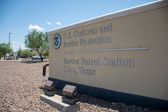 The U.S. Customs and Border Protection's Border Patrol station in Clint, Texas, U.S., June 25, 2019. REUTERS/Julio-Cesar Chavez - RC15F8EFDA90
