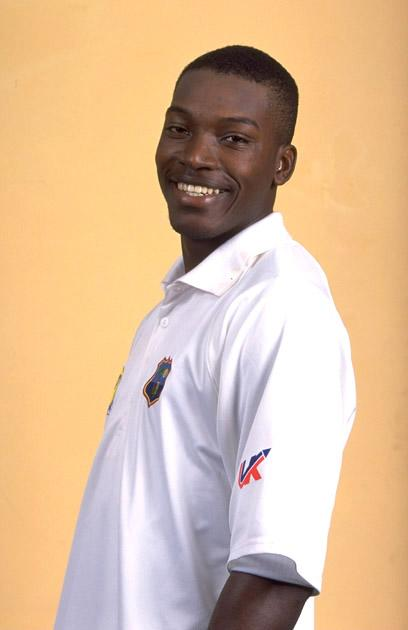 Jul 2000:  Portrait of Chris Gayle of the West Indies. \ Mandatory Credit: Andrew Redington /Allsport