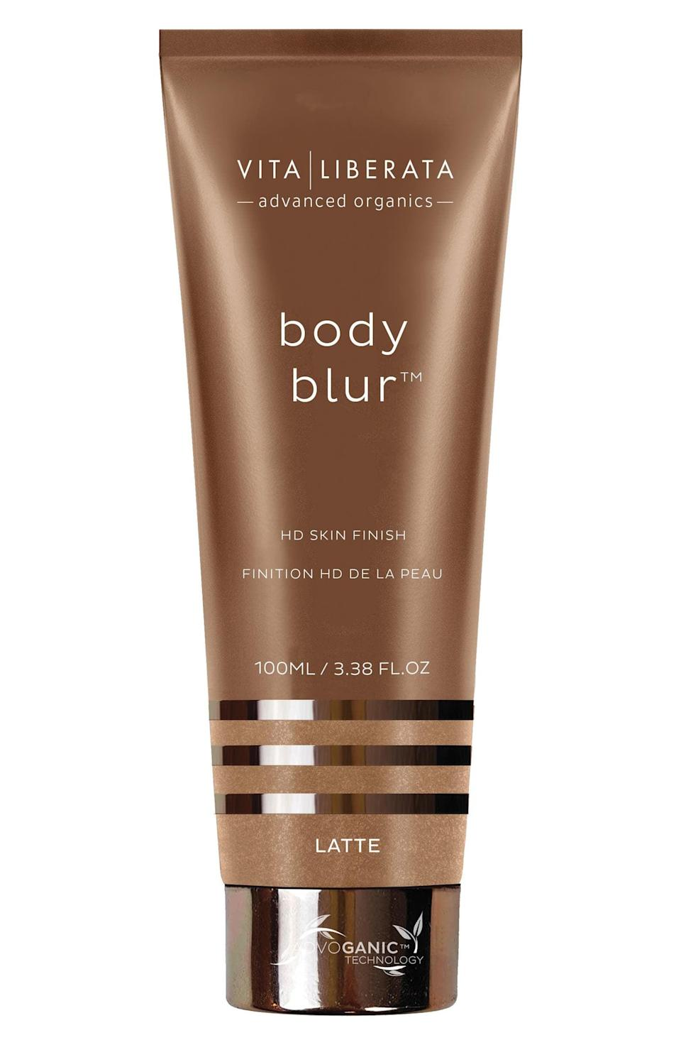 <p>Get airbrushed arms and legs with the <span>Vita Liberata Body Blur Instant HD Skin Finish</span> ($39). </p>