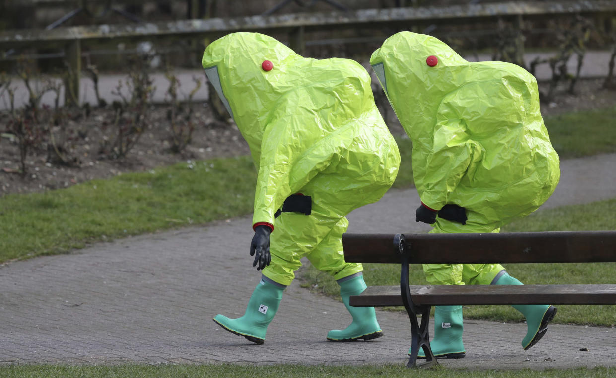 <em>Attack – the attack on former Russian spy Sergei Skripal and his daughter in Salisbury has sparked escalating tensions</em>